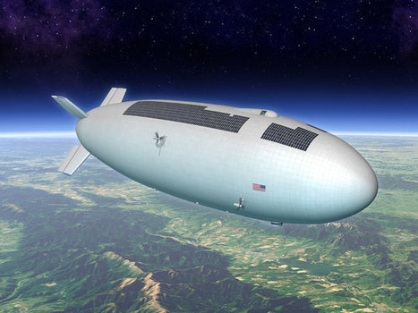 Airships That Carry Science Into the Stratosphere #makereducation   Heron   Scoop.it