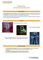 Tutoriel Lightpainting | Souris verte | Scoop.it