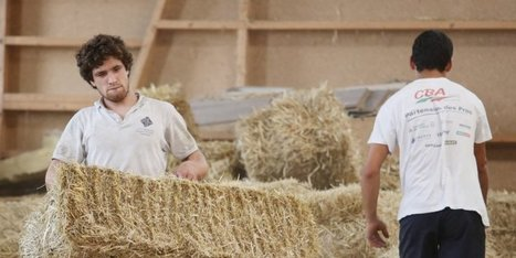 La maison de demain sera-t-elle en paille ? | Maison ossature bois écologique | Scoop.it