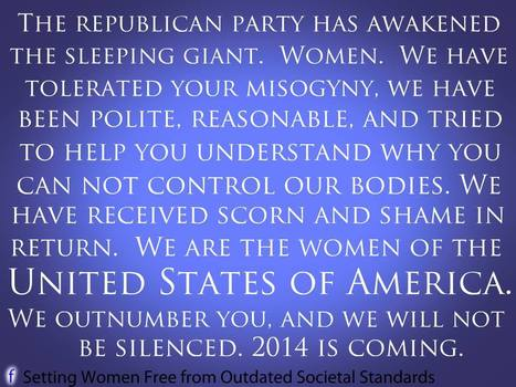 We Are The Women of the United States of America | Coffee Party Feminists | Scoop.it