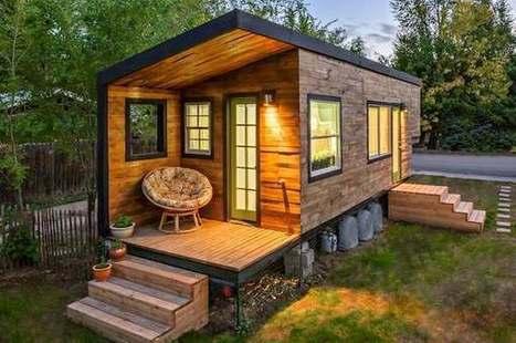 """Small is beautiful: les""""mini maisons"""" la tendance contre les prix de l'immobilier!   news de l'immo   Scoop.it"""