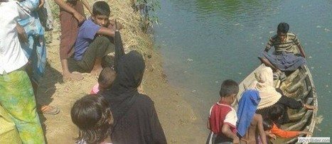 Rohingyas in Pauktaw IDP Camps Face Acute Drinking Water Crisis ~ The Stateless Rohingya | www.thestateless.com | Scoop.it