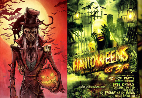 30 Spooky Halloween Inspired Horror Designs | Design Inspiration and Creative Ideas | Scoop.it