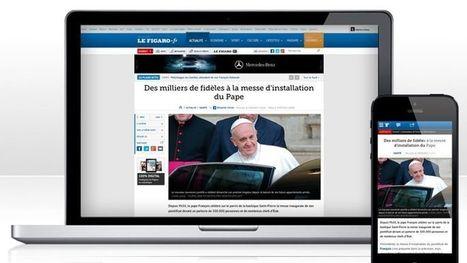 Lefigaro.fr accélère sur le mobile et dans la vidéo | Groupe UX - IESA | Scoop.it