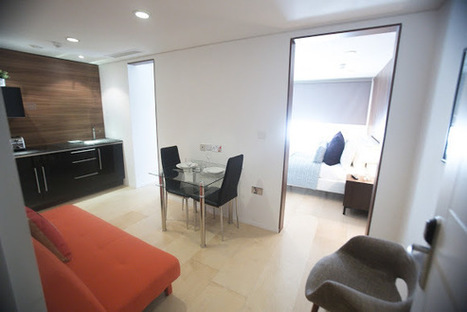 Classy Stark Lounge Studio Apartment in City of London, London Serviced Apartments - RatedApartments | Serviced Apartments in London | Scoop.it
