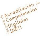 Campaña de Acreditación de Competencias Digitales 2011 | web2.0ensapje | Scoop.it