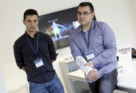 Adiós escayola: Prótesis impresa en 3D con electroestimuladores | Managing Technology and Talent for Learning & Innovation | Scoop.it