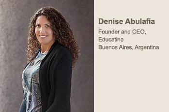Denise Abulafia - Founder Educatina - Changing the face of Education in Latin America | Ogunte | Women Social Innovators | Scoop.it