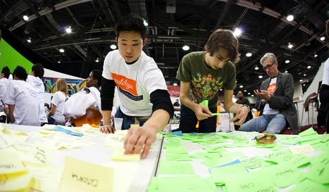 Teaching Kids Design Thinking, So They Can Solve The World's Biggest Problems | Integrating Technology to Enhance Design and Creativity Skills | Scoop.it