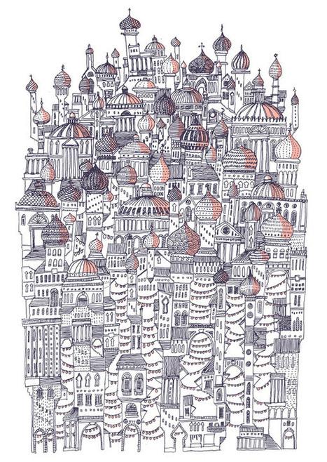 David Fleck : Illustrating Italo Calvino | URBANmedias | Scoop.it