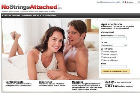 Rencontre de dating adult :Nostringsattached | L'adultère et les relations extraconjugales | Scoop.it