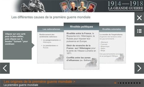 Un module e-Learning sur la 1ère guerre mondiale (collège) | TICE, Web 2.0, logiciels libres | Scoop.it