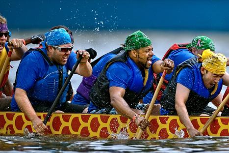 Dragon Boat Races Got Underway In Edmonton - Island Sports News | Paddler News | Scoop.it