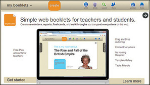 Classroom Publishing: Enable students to create ebooks of their work with these easy-to-use applications | ebooks & school libraries ... where are we going? | Scoop.it