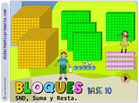 didactmaticprimaria: Bloques base 10. SND, suma y resta. | DidácTICa_MatemáTICas. Revista Digital | Scoop.it