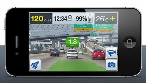 iOnRoad augmented reality navigation app promises to make you a safer driver - SlashGear | App Buzz | Scoop.it