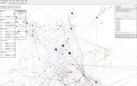 Gephi se réveille... | Gephi - cartographie | Scoop.it