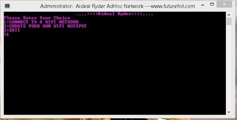 How to Create and Connect to Ad-hoc Network in Windows 8/8.1   Android Apple Windows Tech Blog   Scoop.it