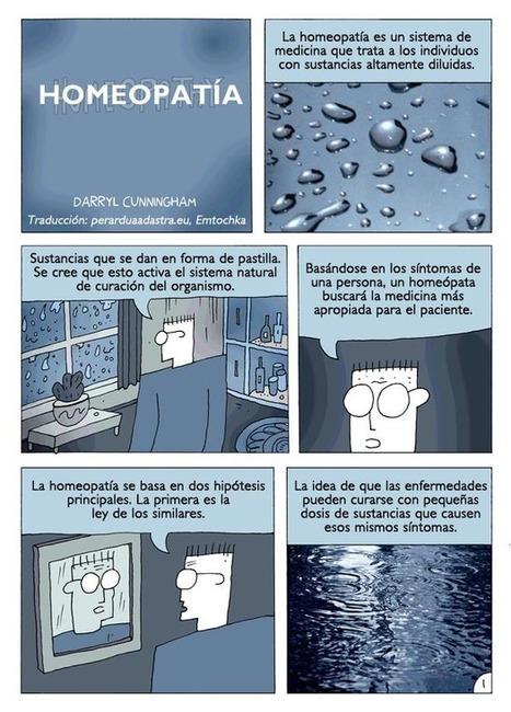 Homeopatía (un cómic de Darryl Cunningham) | Per Ardua ad Astra | MEDICINA ALTERNATIVA natbio cbi | Scoop.it