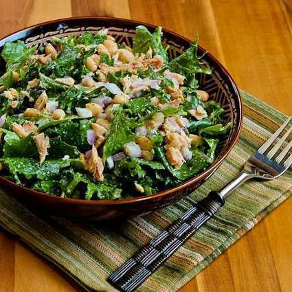 Kalyn's Kitchen: Recipe for Baby Kale, White Bean, and Tuna Salad ... | 4-Hour Body Bean Cookbook | Scoop.it