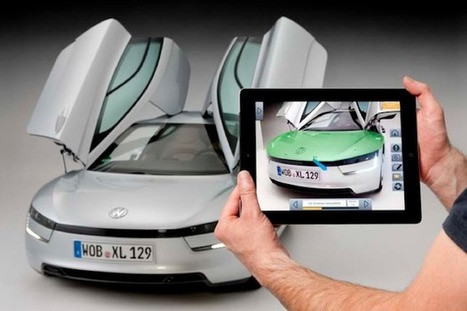 Volkswagen develops augmented reality service manual for the XL1 | 4D Pipeline - trends & breaking news in Visualization, Virtual Reality, Augmented Reality, 3D, Mobile, and CAD. | Scoop.it