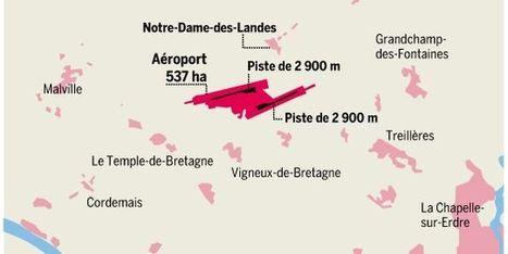 Aéroport Notre-Dame-des-Landes : le projet qui divise depuis quarante ans | #territori | Scoop.it
