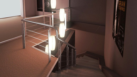 Blender - Hall and Staircase Scene Lighting and Compositing Tutorial   Blender Tutorials   Blender 3D graphics Tutorial   Scoop.it