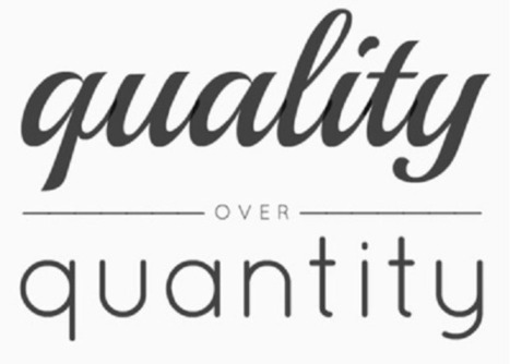 Quality Beats Quantity in Social Media Marketing - JOSIC Media | Community Managers Unite | Scoop.it
