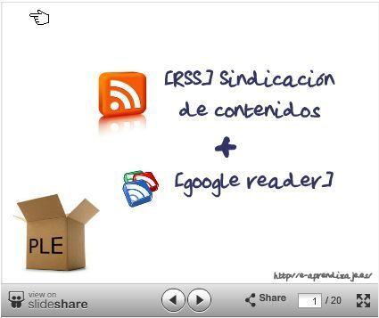 Tutorial Google Reader @ Cuaderno del Profesor David Alvarez | EDUCACIÓN en Puerto TIC | Scoop.it