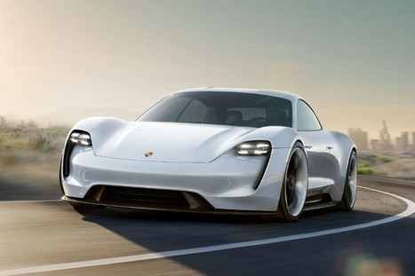 Porsche Mission E Electric Car to Compete With Tesla Model S - Industry Tap   Computers, Security, Networks, Healthcare IT, & More   Scoop.it