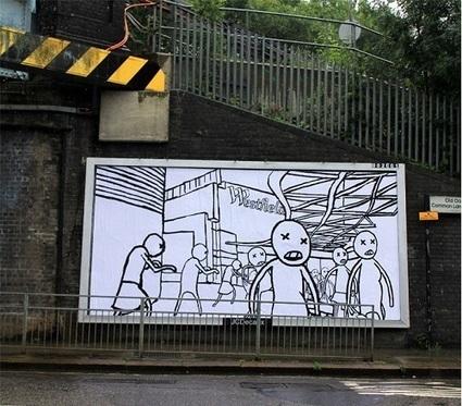 Brandalism : Des artistes détournent 365 panneaux publicitaires | Culture G | Scoop.it