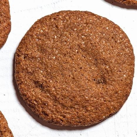 Recette Cookies Ginger sans gluten biscuits à la mélasse |Recette Cookies | recette cookies | Scoop.it