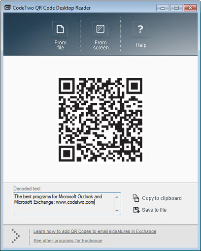 Free QR code desktop decoder | Aware Entertainment | Scoop.it