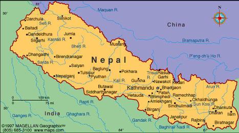 Map of Nepal | Sold-Nepal | Scoop.it