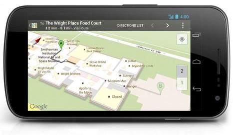 Google Maps : La version Indoor en France fin septembre | Time to Learn | Scoop.it