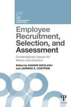 Employee Recruitment, Selection, and Assessment: Contemporary Issues for Theory and Practice (Paperback) - Routledge | Greek HR | Scoop.it