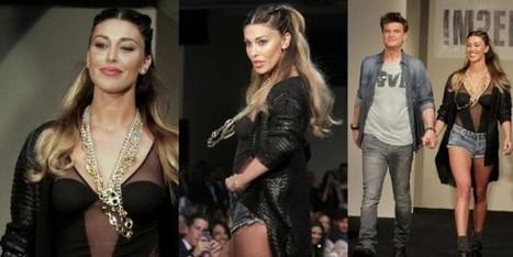Belen Rodriguez, sfila con la sua linea !m?erfect ad un mese dal parto - Sfilate | fashion and runway - sfilate e moda | Scoop.it
