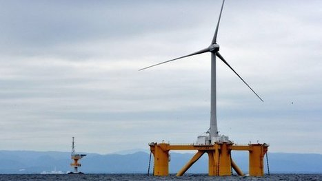 To Expand Offshore Power, Japan Builds Floating Windmills | OWI-Lab | Scoop.it