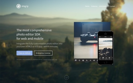 img.ly free photo editor SDK for HTML5 and iOS | Daily Magazine | Scoop.it