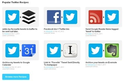 IFTTT : automatiser des tâches courantes sur le web | formation 2.0 | Scoop.it