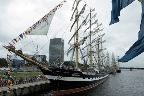 Riga phase of The Tall Ships Races commences | Baltic News ... | Latvian Life | Scoop.it