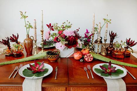 Berry-hued Botanical Wedding Inspiration | Green Wedding Shoes ... | Weddings & Events | Scoop.it