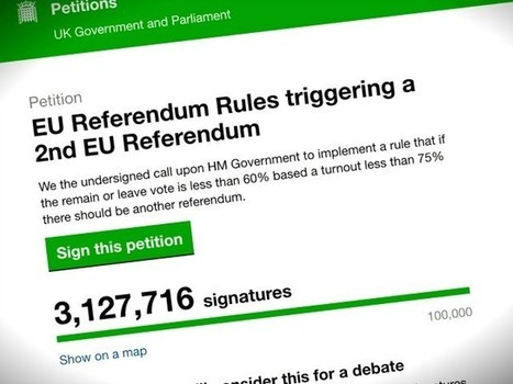 3M+ 'Remain' Petition Uses 'Script' To 'Fake' Signatures | Global politics | Scoop.it