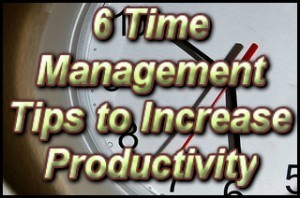 6 Time Management Tips to Increase Productivity | Fashion Marketing | Scoop.it