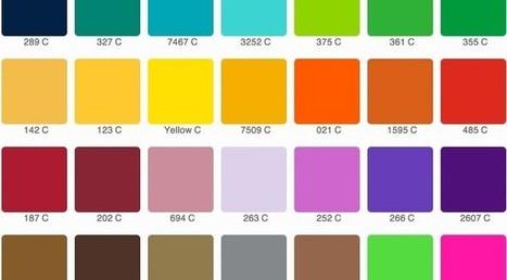 I colori Pantone in photoshop: creazione e gestione | Digital publishing and printing | Scoop.it