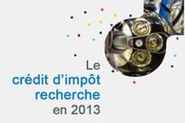 Le crédit d'impôt recherche en 2013 | Enseignement Supérieur et Recherche en France | Scoop.it