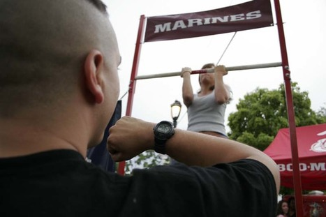 USMC changes fitness requirement for women | Marine Corps Research Project | Scoop.it