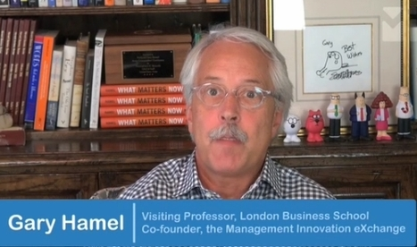 Innovation Excellence | Gary Hamel on Building Innovation Capability | Public Sector Innovation | Scoop.it