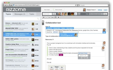 Communicate and collaborate in Real-Time | So What ? | Scoop.it