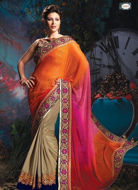 Latest New Bridal Designer Fashionable Saree | Women's Fashion & Jewellery Shopping | Scoop.it